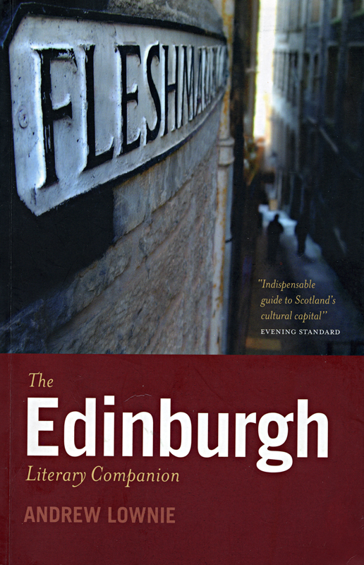 The Edinburgh Literary Companion Andrew Lownie front cover Polygon 2005