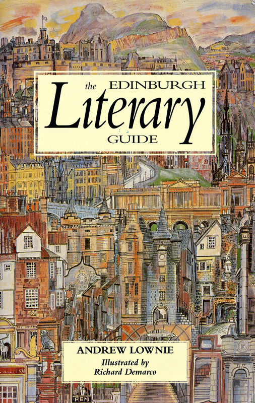 The Edinburgh Literary Guide - Andrew Lownie - Front cover - Canongate Press 1992