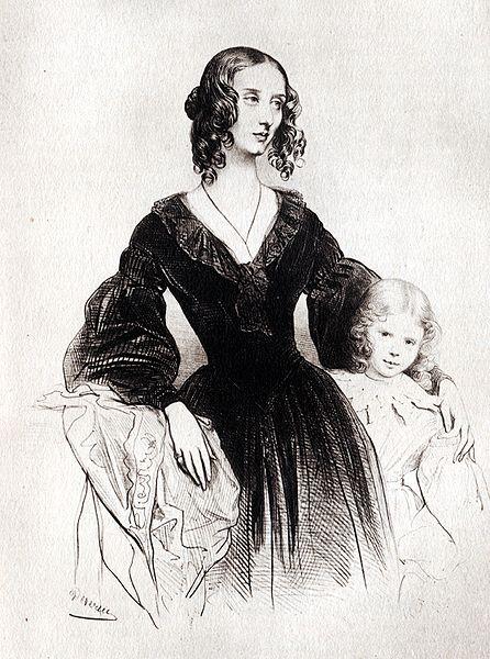 Portrait of Jane Wilhelmina Stirling by Achille Deveria ca 1830 Wikipedia