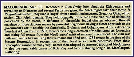 Scottish Clan MacGregor Spreading To Glenstrae