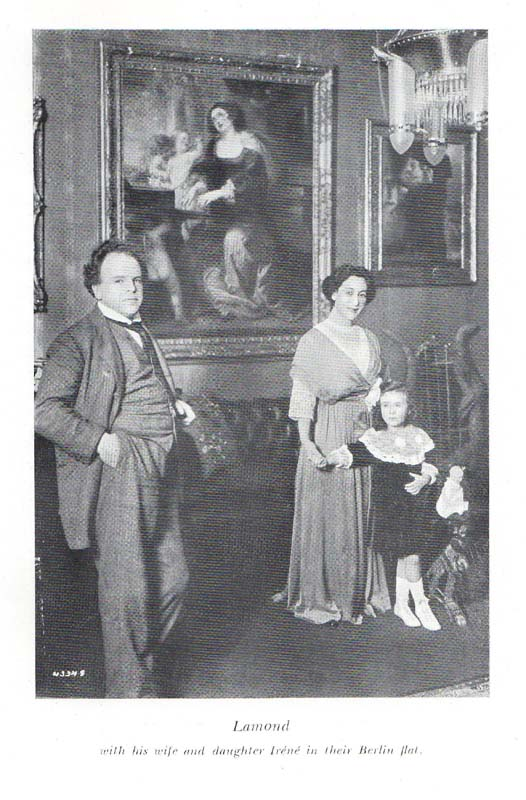 Frédéric Lamond His Wife & Daughter -The Memoirs of Frederic, Lamond William MacLellan, Glasgow,1949