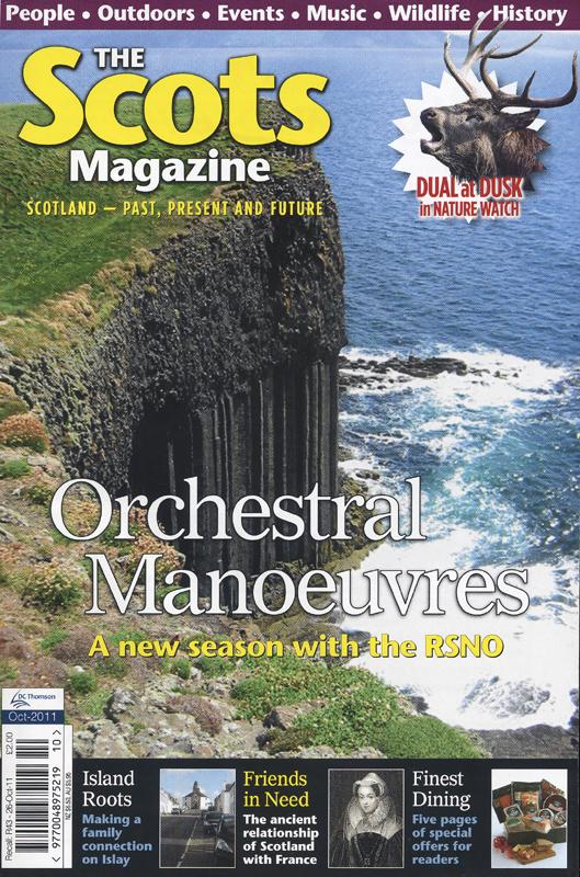 The Scots Magazine octobre 2011
