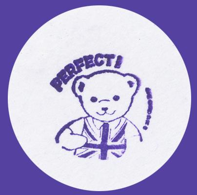 Tampon Teddy Bear