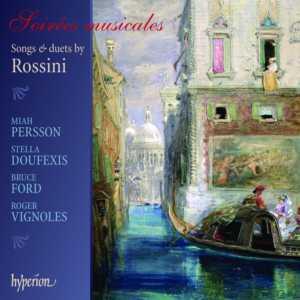 Gioachino Rossini Soirées musicales pochette Hyperion CD