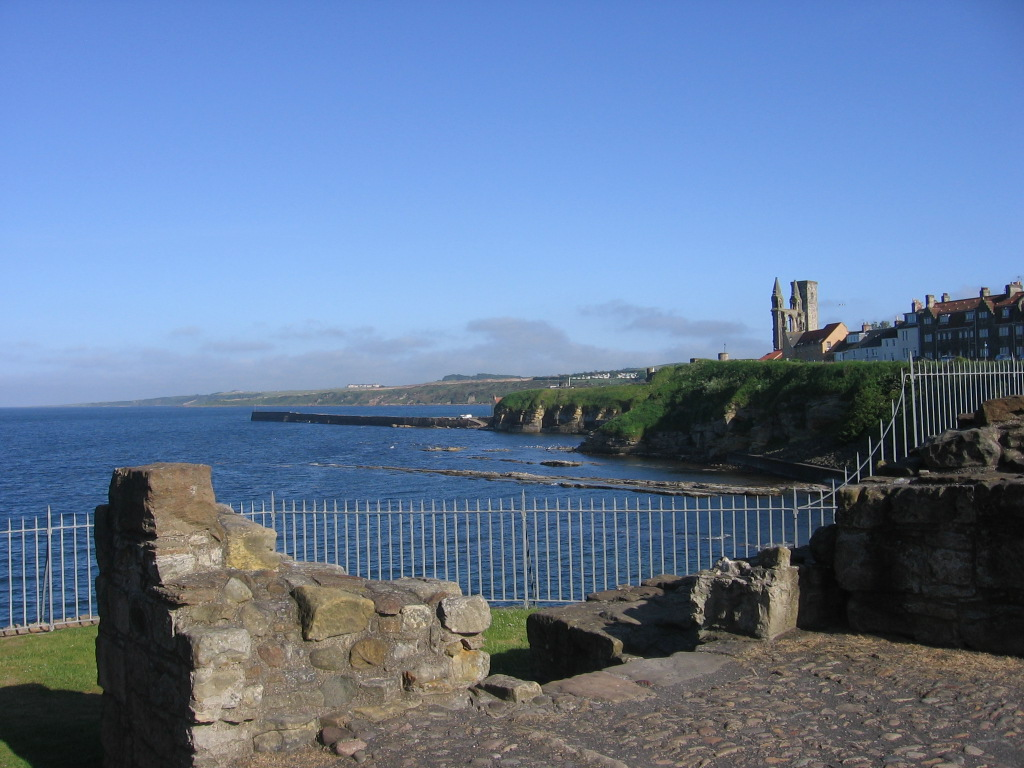 St Andrews Castle and Cathedral landscape - Scotiana 2006