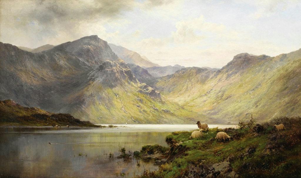Loch Katrine Alfred de Breanski