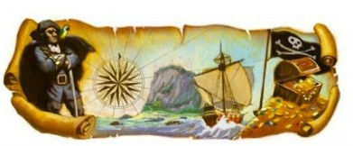 160th Birth Anniversary of Robert Louis Stevenson (13 November 2010 - Google Doodle)