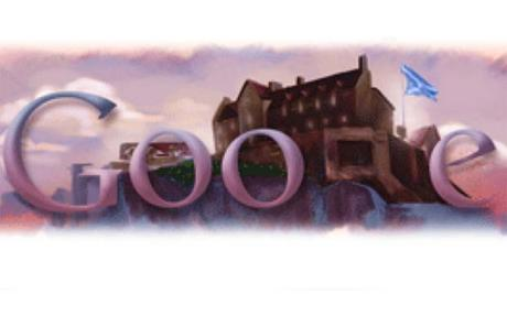 Scotland National Day Google Doodle St-Andrews day