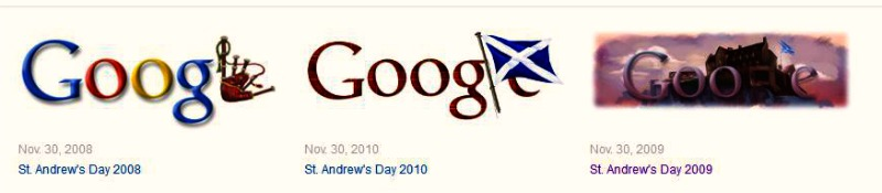 google-doodle-st-andrews-day-scotland
