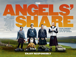 The Angels' Share poster Source Wikipedia