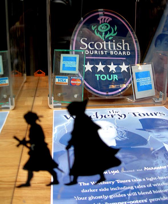 Edinburgh Scottish Tourist Board Tours  © 2007 Scotiana