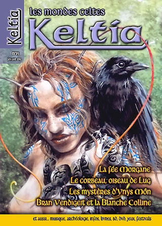 Keltia Les mondes celtes cover issue 15 février-avril 2010  Editions du Nemeton