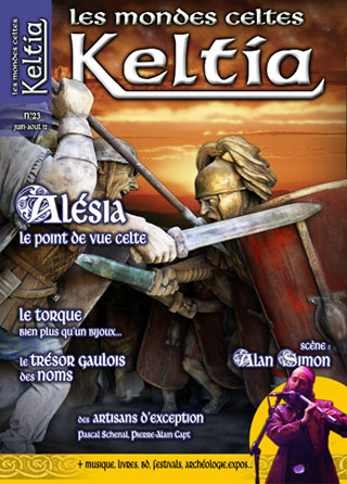 Keltia cover issue 23 February-April 2012 Editions du Nemeton Paris