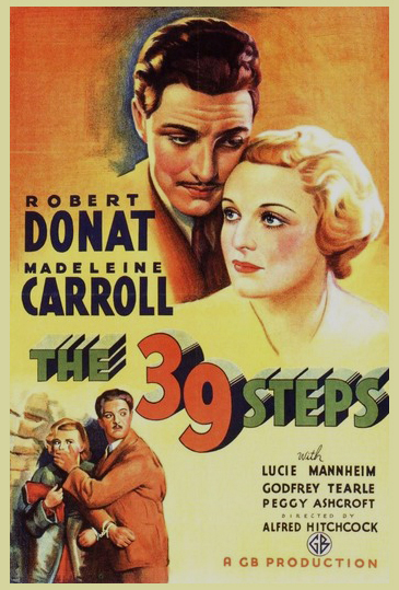 The 39 Steps Alfred Hitchcock 1935 GB Production