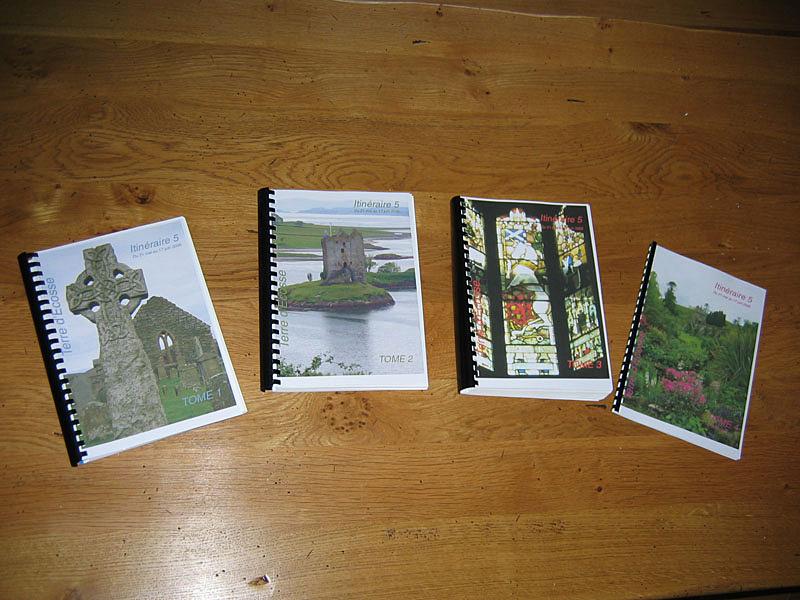 Itinéraire 5 Mairiuna's  guidebooks © 2006 Scotiana