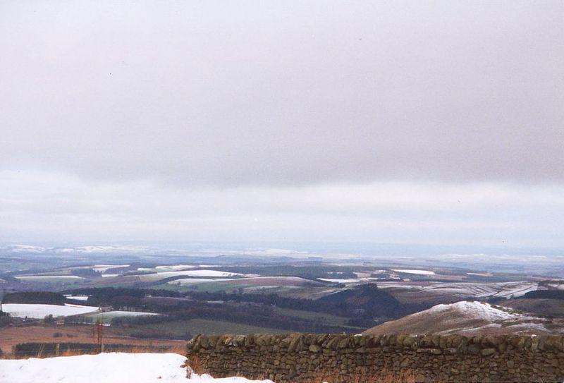 The Scottish Borders from Carter Bar (Ian A. Inman) - Source Wikipedia