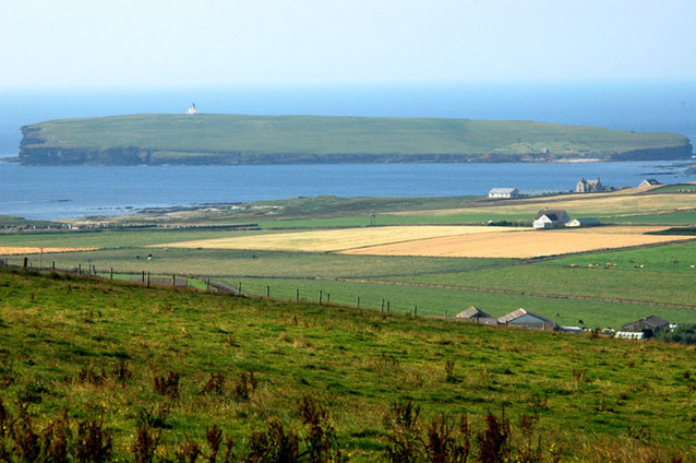 Birsay Parish and the Brough of Birsay in the background - Wikipedia