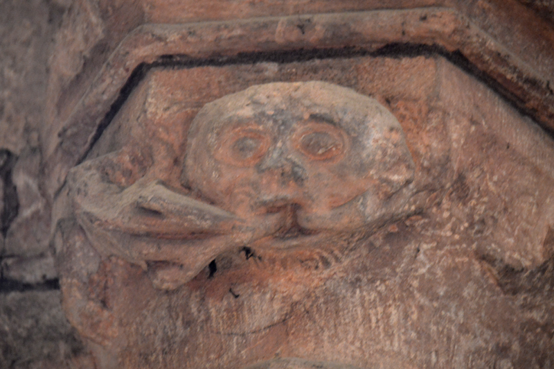 St Magnus Cathedral Greenmen Carving Kirkwall Orkney Scotland Scotiana 2012