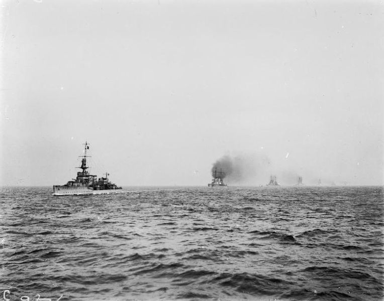 HMS Cardiff leading the German high seas fleet Wikipedia