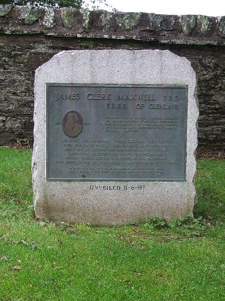 James Clerk Maxwell Monument in Parton Galloway Wikimedia