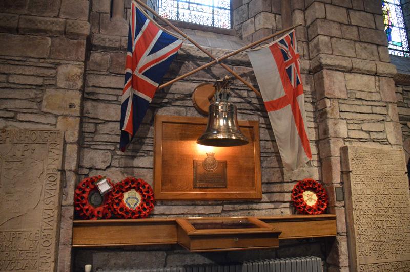Kirkwall Cathedral HMS Royal Oak Memorial © 2012 Scotiana