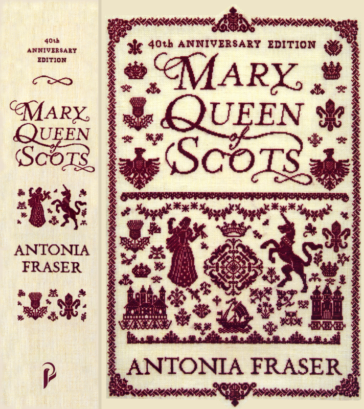 Mary Queen of Scots Antonia Fraser 40th anniversary edition Phoenix 2009 edge and front cover