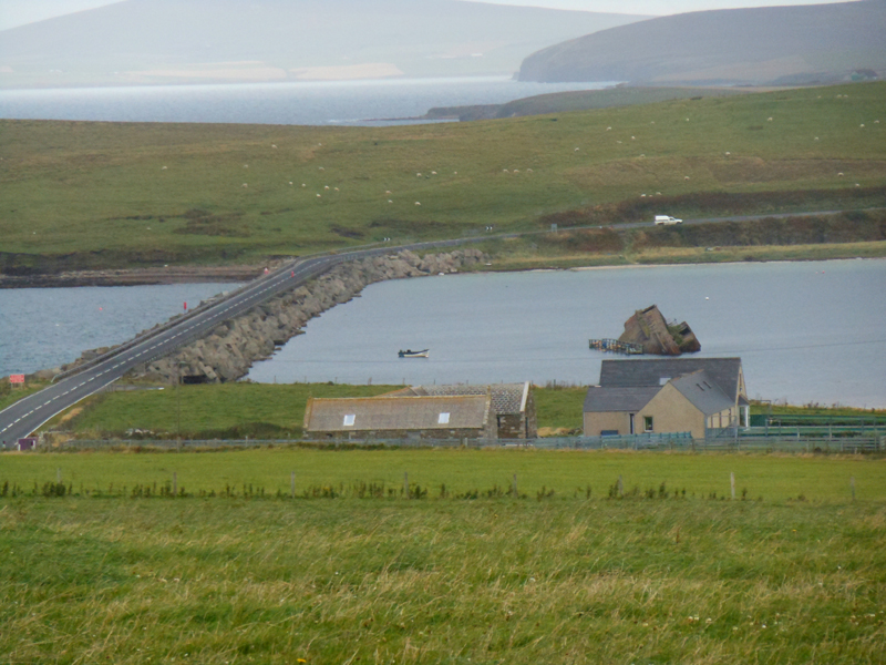 Orkney Churchill Barriers © 2012 Scotiana