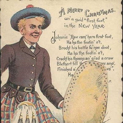 a new year toast said by scottish people