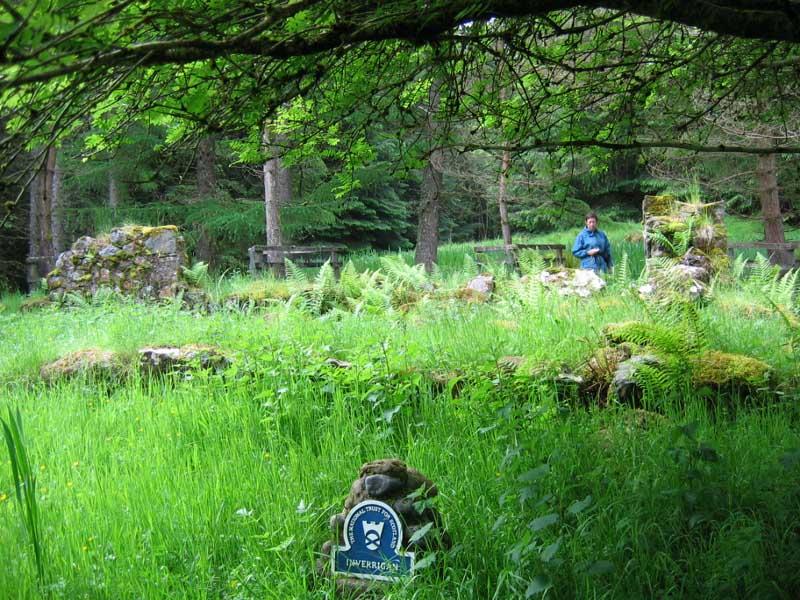 Inverrigan ruins  © 2004 Scotiana