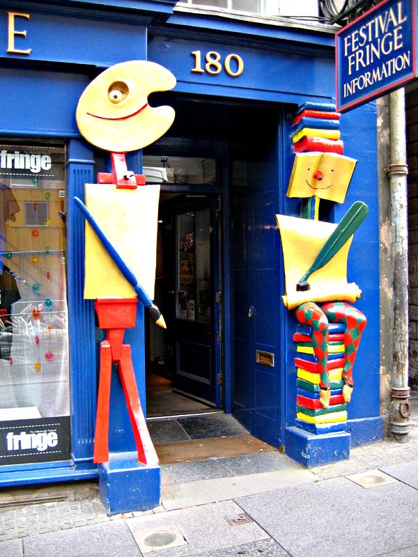 Edinburgh Festival Fringe Information 180 High Street  © 2006 Scotiana