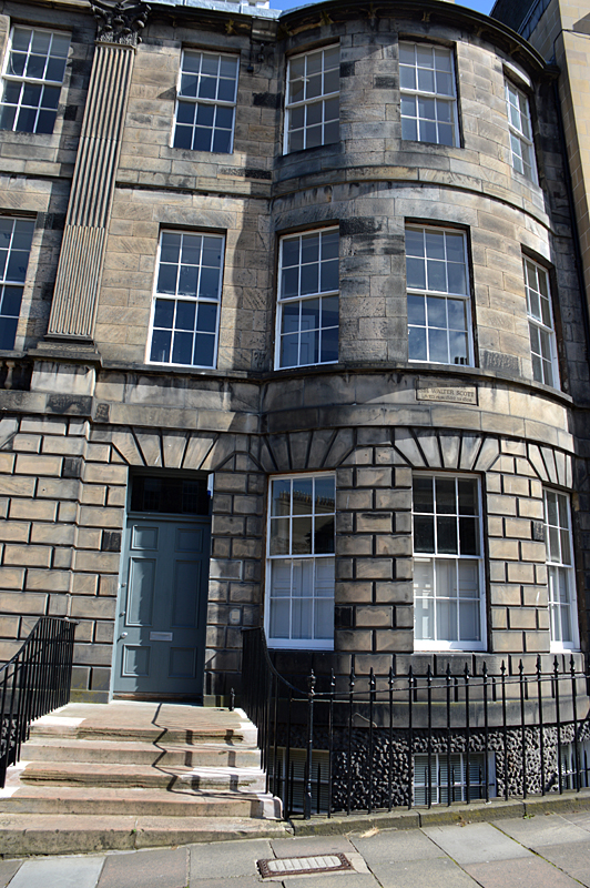 Walter Scott House Edinburgh © 2012 Scotiana