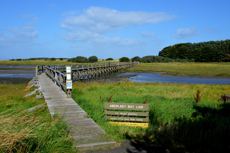 Aberlady Bay Footbridge to Enchantment