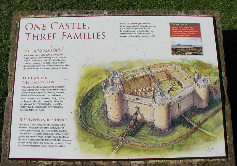 Dirleton Caslte One Castle Three Families © 2012 Scotiana