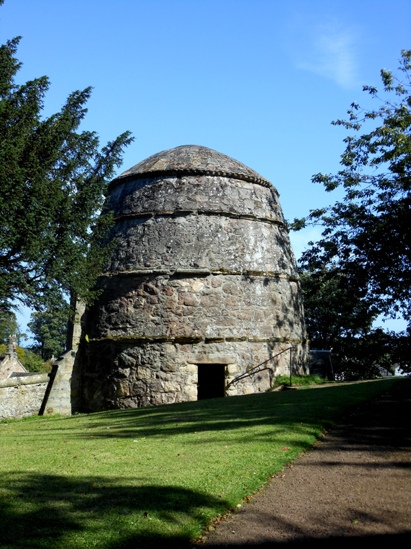 Dirleton Castle the dovecot