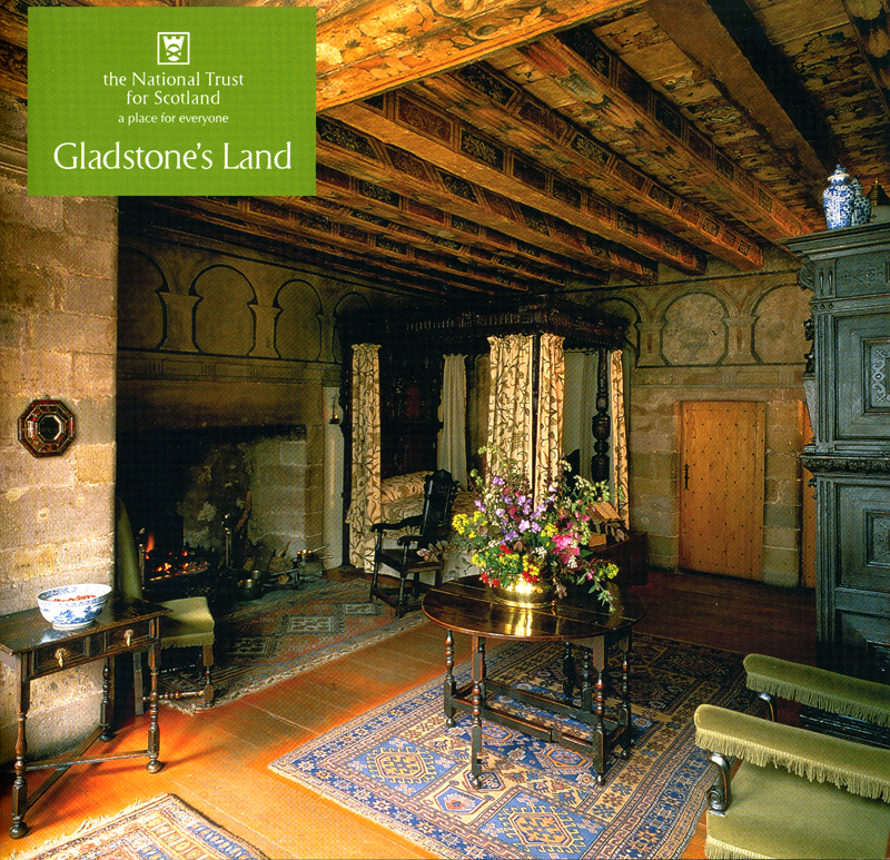 Gladstone's Land The National Trust for Scotland 2012  front cover
