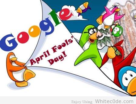 Google's April Fools'Day 2012
