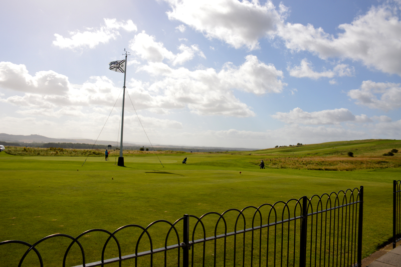 Gullane Golf flag