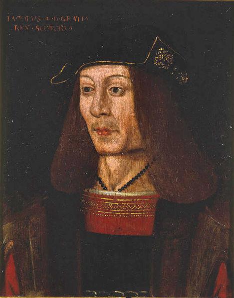 Portrait of James IV of Scotland 17 th century