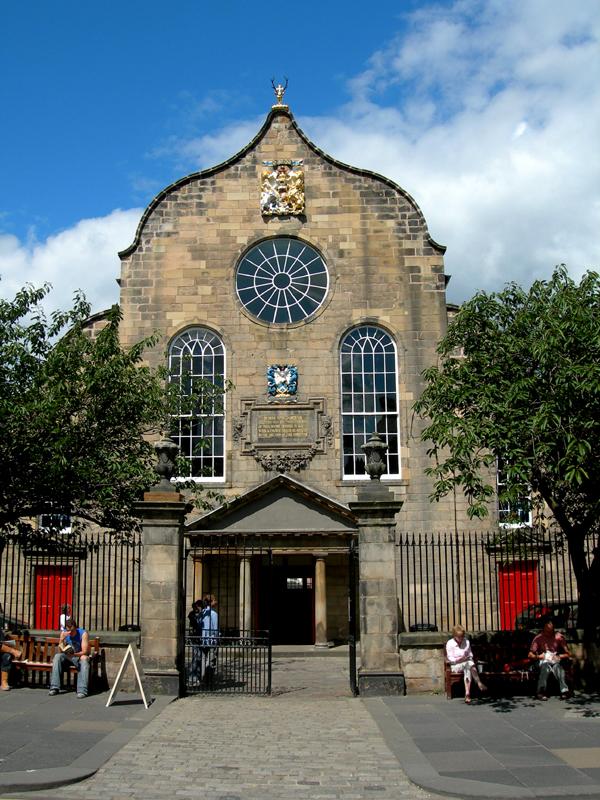 Edinburgh Royal Mile Canongate Kirk © 2007 Scotiana