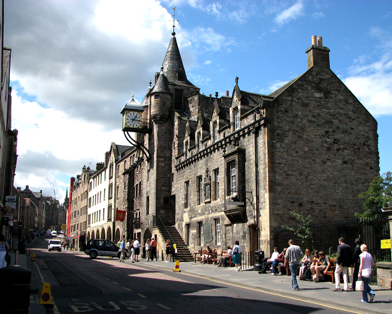Canongate Tolbooth © 2012 Scotiana