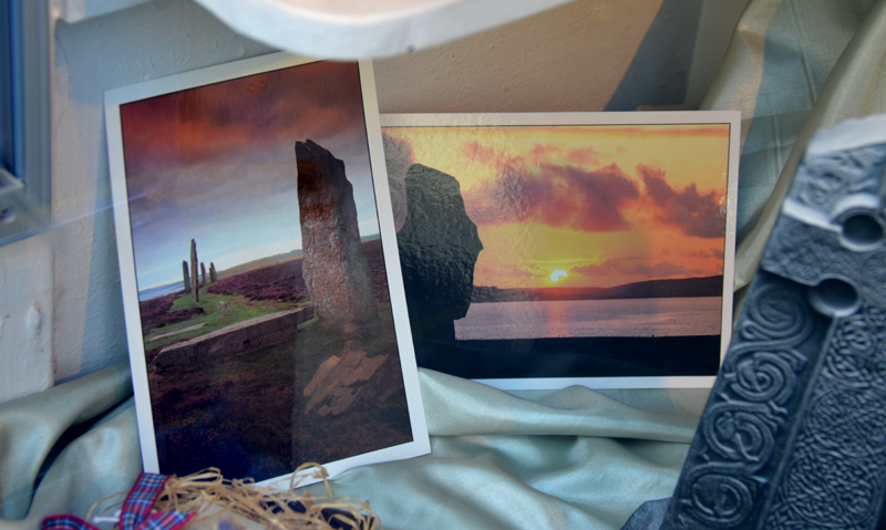 Edinburgh Crafts Celtic Knitwear postcards celtic artefact © 2012 Scotiana