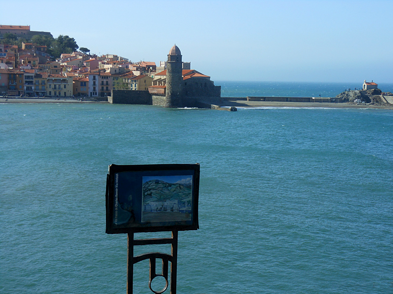 Collioure Mackintosh in situ reproduction panel of 'The Summer Palace of the Queens' © 2012 Scotiana