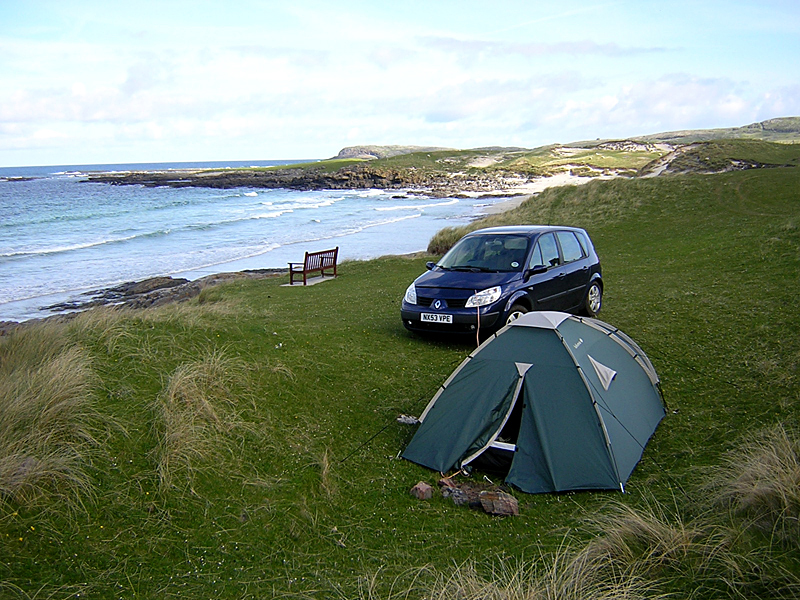 Isle of Barra rough camping