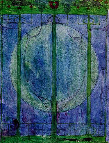 The Tree of Personal Effort Charles Rennie Mackintosh 1895