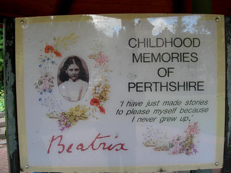 Beatrix Potter Garden in Dunkeld Childhood Memories © 2007 Scotiana