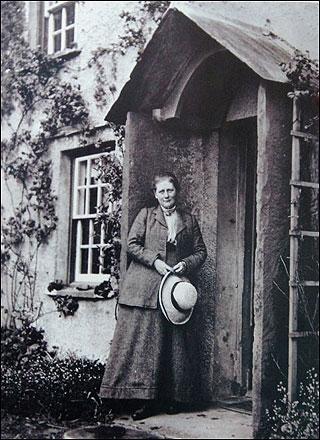 Beatrix Potter at Hill Top house