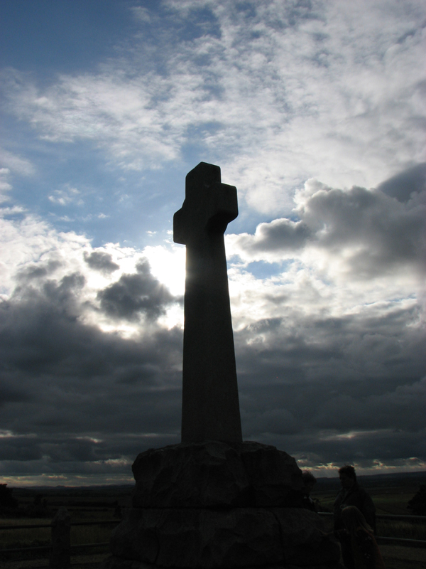 Flodden Monument erected in 1910 on Piper's Hill © 2007 Scotiana