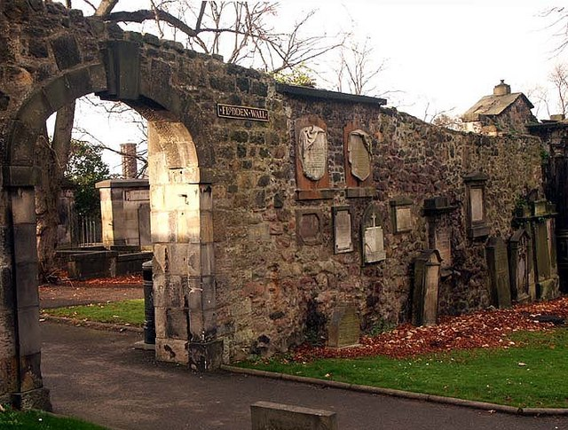 Flodden Wall in Greyfriars Kirk Edinburgh Wikimedia
