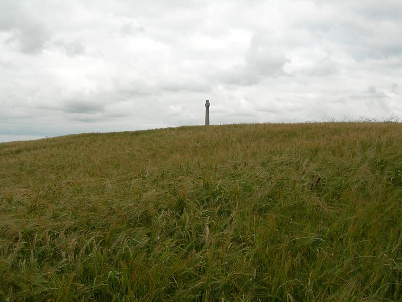 Flodden monument at Flodden Field near Branxton © 2007 Scotiana