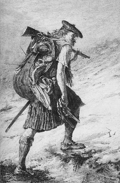 Illustration to Walter Scott's novel Waverley after a painting by John Pettie - Wikipedia